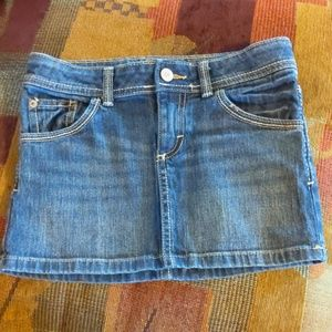Cherokee jean skirt